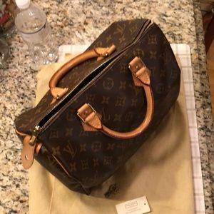 Louis Vuitton Speed 30 handbag.